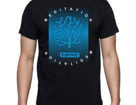 #41 cho Design a T-Shirt related to the Keywords: Meditation, Calmness, Freedom, Open Mindedness bởi VMRKO