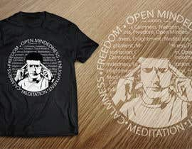 #47 untuk Design a T-Shirt related to the Keywords: Meditation, Calmness, Freedom, Open Mindedness oleh agussetiawan72