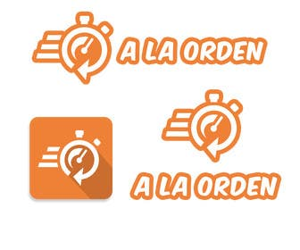 #5 untuk Diseñar un logotipo para aplicación móvil de entrega de productos y servicios a domicilio oleh albertosemprun