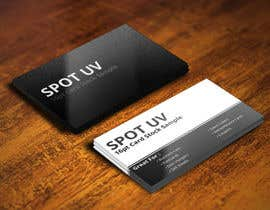 #11 untuk Design some Spot UV Business Cards for an online print company oleh mohanedmagdii