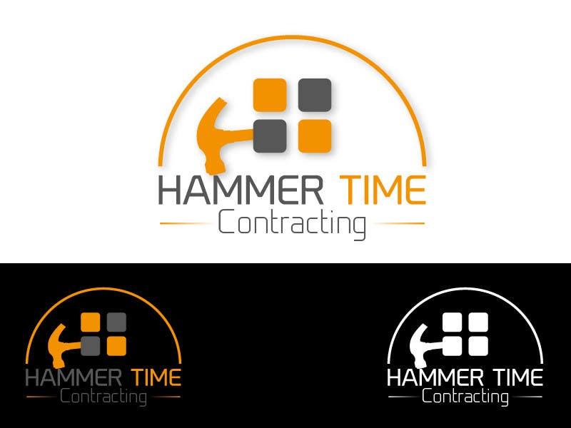 Inscrição nº 25 do Concurso para Design a Logo for Hammertime Contracting