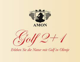 #3 for Design a Banner Golf 2+1 in german af MihaiR24
