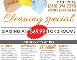 #7 untuk flyers for ruston cleaning services oleh mastasoftware