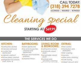 #11 untuk flyers for ruston cleaning services oleh mastasoftware