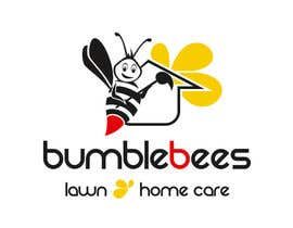 misicivana tarafından Design a Logo for Bumblebees Lawn & Home Care Services LLC için no 53