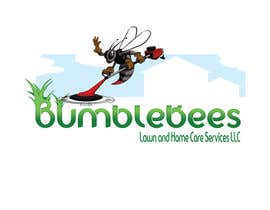zackleo tarafından Design a Logo for Bumblebees Lawn & Home Care Services LLC için no 89