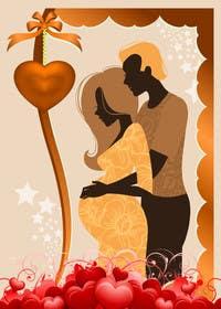 #72 cho Illustrate Pregnancy Announcement bởi lavdas215