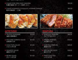 jacklai8033399 tarafından I need some Graphic Design for high end Japanese Restaurant Menu için no 27