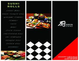 sabrina211 tarafından I need some Graphic Design for high end Japanese Restaurant Menu için no 26
