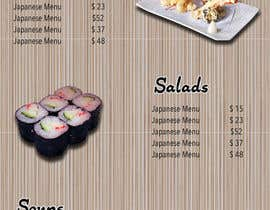 elixirman tarafından I need some Graphic Design for high end Japanese Restaurant Menu için no 31