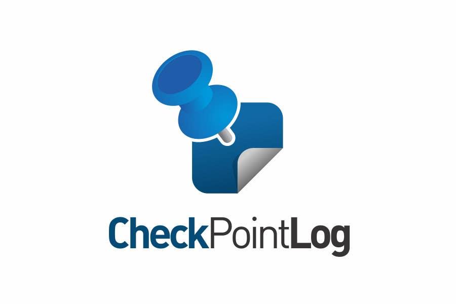 #86 for Design a Logo for Check Point Log mobile app by edvans