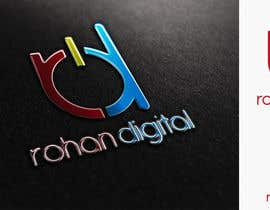 #196 for Design a Logo for a company - Rohan Digital by DigiMonkey