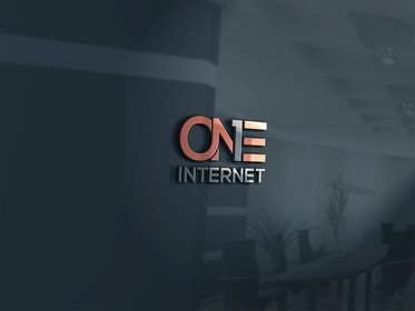 #122 for Develop a Corporate Identity for  ONE INTERNET af usmanarshadali