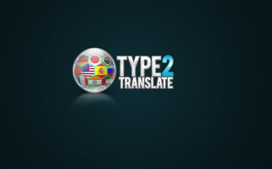 Bài tham dự cuộc thi #                                        31                                      cho                                         Design a Logo for www.type2translate.com