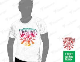 #55 untuk Design a T-Shirt for FireFashion (firefighter theme) oleh avtoringUK