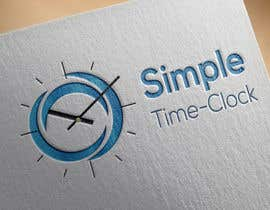#10 untuk Design a Logo and Branding for a time-clock site oleh s04530612