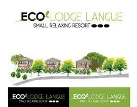 #17 for draw a logo for ECO LODGE LANGHE by DandelionLab