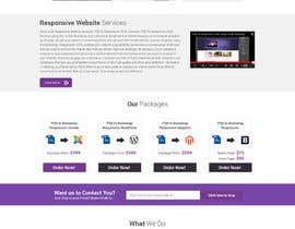 #5 for Redesign of Website 2 Pages. Attractive eye catch layouts required af omwebdeveloper