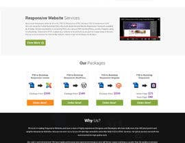 #8 for Redesign of Website 2 Pages. Attractive eye catch layouts required by omwebdeveloper