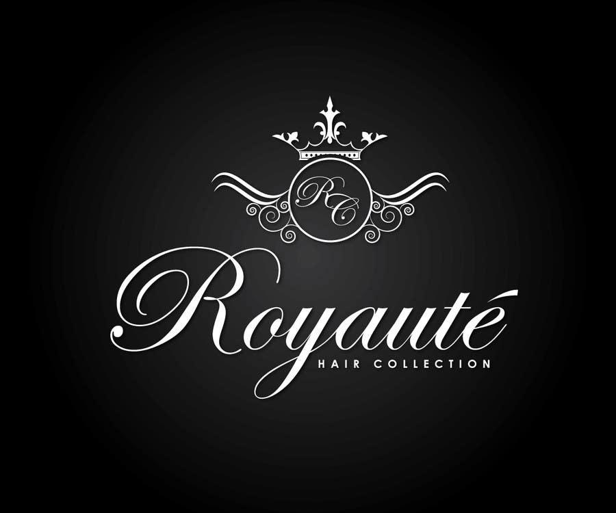 Penyertaan Peraduan #10 untuk Design a Logo for Royaute Hair Collection