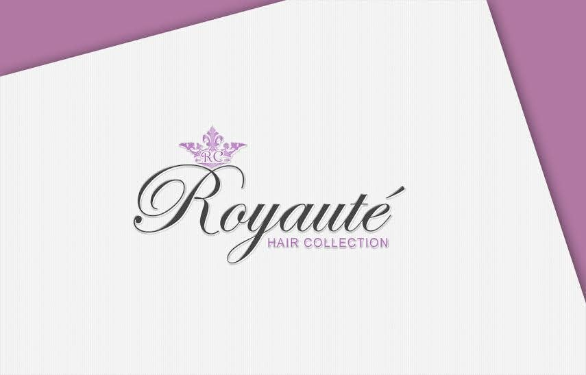 Penyertaan Peraduan #18 untuk Design a Logo for Royaute Hair Collection