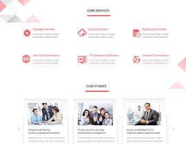 #44 untuk Design a Website Mockup for Milnsbridge oleh webmastersud