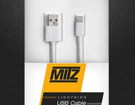 #20 for Create Packaging Designs for iPhone Cable af madlabcreative
