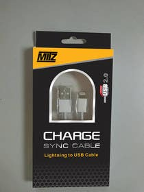 #4 for Create Packaging Designs for iPhone Cable af AramDesigne