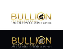 Nro 8 kilpailuun Design Bullionint.com's logo käyttäjältä alexandracol