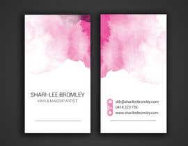 azizagoda tarafından Design some Business Cards for Hair & Makeup Artist için no 56