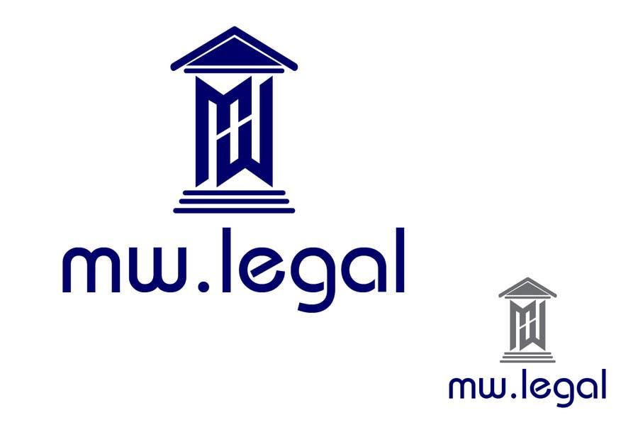 Konkurrenceindlæg #34 for Design a Logo for MW-Legal! (Simple)