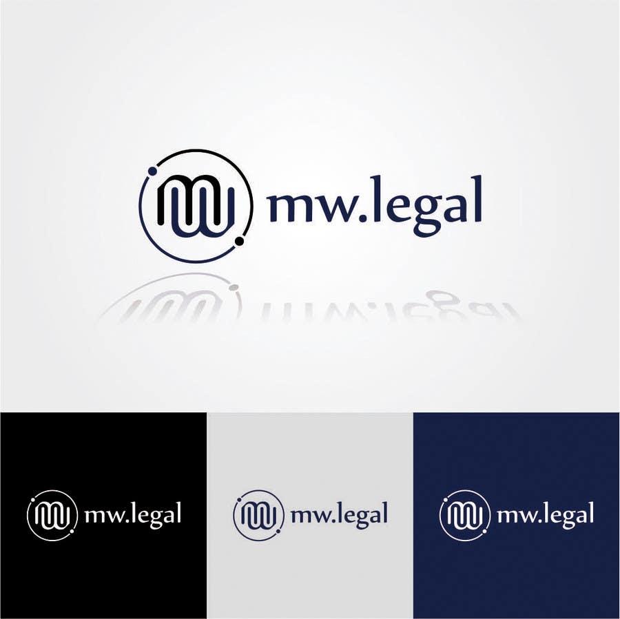 Konkurrenceindlæg #178 for Design a Logo for MW-Legal! (Simple)