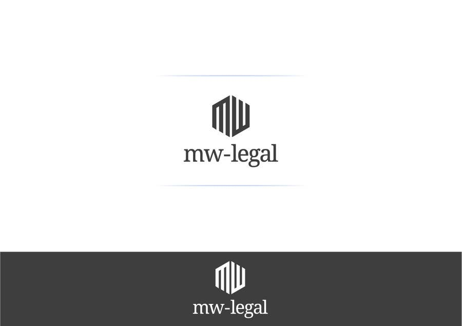 Konkurrenceindlæg #106 for Design a Logo for MW-Legal! (Simple)