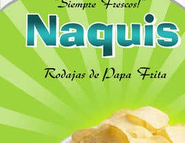 #53 untuk Print & Packaging Design for Snacks and logo for Ñaquis Snacks oleh sandszenithd