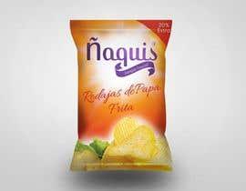 #2 untuk Print & Packaging Design for Snacks and logo for Ñaquis Snacks oleh abhikreationz