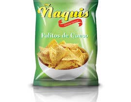 #39 untuk Print & Packaging Design for Snacks and logo for Ñaquis Snacks oleh abhikreationz