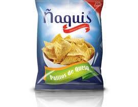 #61 untuk Print & Packaging Design for Snacks and logo for Ñaquis Snacks oleh abhikreationz
