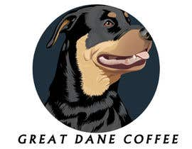 ayishascorpio tarafından Design a Logo for Great Dane Coffee için no 14