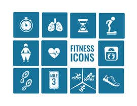 #30 for Fitness Icon design by areejjamal