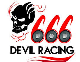 #9 untuk Design a Banner for Devil Racing car and audio oleh mtece30