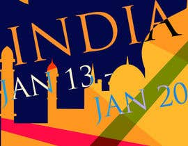 #8 for India Tour Flyer (regular A4 size) by Douhoh