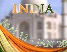 #22 for India Tour Flyer (regular A4 size) af Douhoh