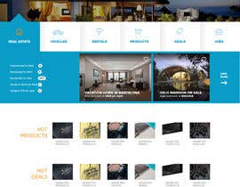 #40 untuk Design a Website Mockup for website oleh givin
