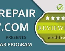 #26 untuk Design a Banner for CreditRepairReview.com oleh demotique