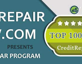 #34 untuk Design a Banner for CreditRepairReview.com oleh demotique