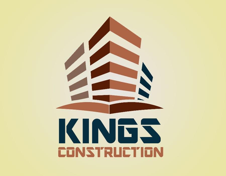 Penyertaan Peraduan #35 untuk Design a Logo for a construction company