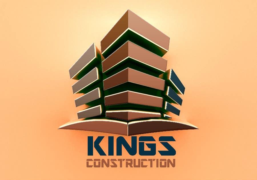 Penyertaan Peraduan #36 untuk Design a Logo for a construction company
