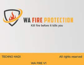 #62 untuk Design a Logo for a Fire Safety Company oleh TechHadi