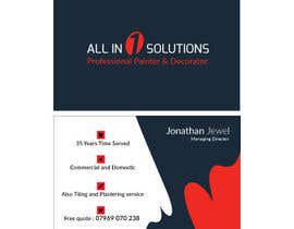 JewelBluedot tarafından Business Card Design - Simple - için no 26
