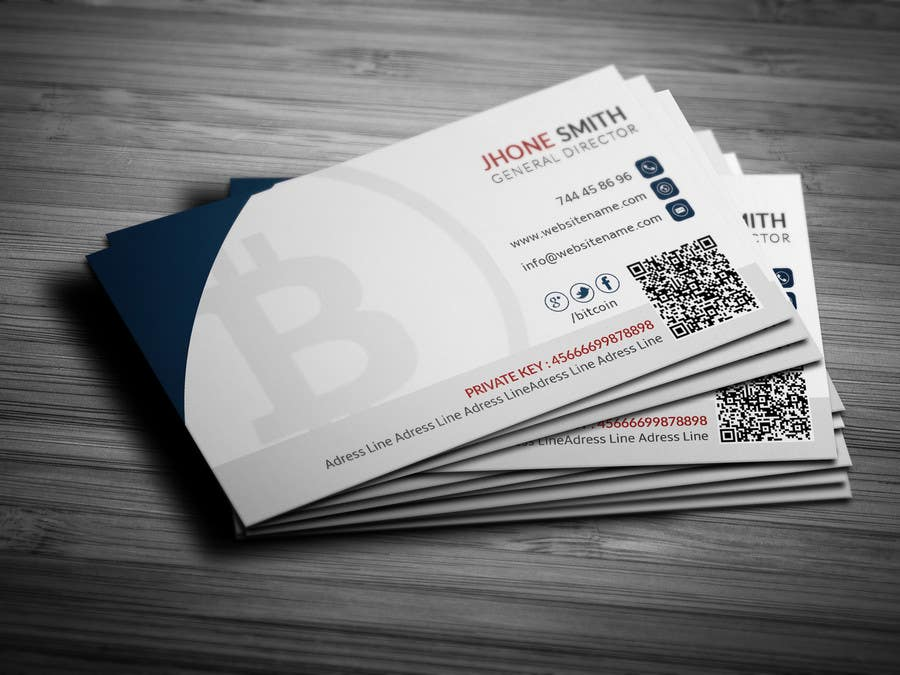 Top Entries - Design 10 Business Cards for Bitcoin   Freelancer